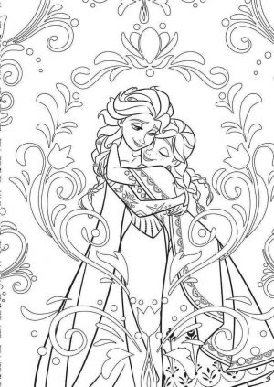20 Free Printable Disney Frozen Coloring Pages Everfreecoloring Com