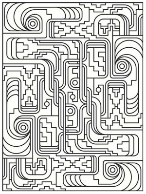 Adult Coloring Pages Patterns Art Deco 5lqp