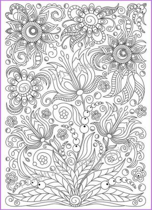 Adult Coloring Pages Patterns Floral Embroidery 9rwb