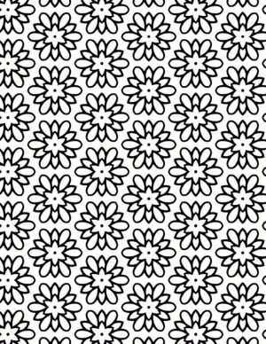 Adult Coloring Pages Patterns Flower Medallion 0pfx