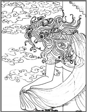 Adult Fantasy Coloring Pages 1wms