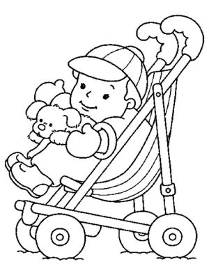 Baby Coloring Pages Online – yywm4