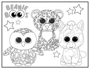 Beanie Boo Coloring Pages Free 0bhu