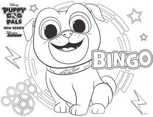 Bingo Puppy Dog Pals Coloring Pages Printable 7njk