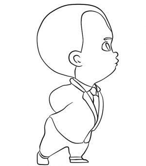 Boss Baby Coloring Pages Free to Print – 31672