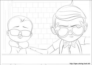 Boss Baby Free Printable Coloring Pages – 33717