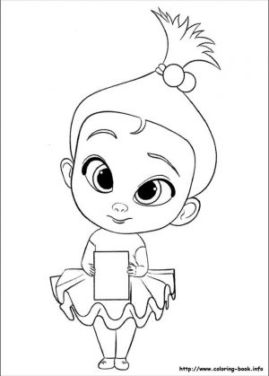 Boss Baby Free Printable Coloring Pages – 56781