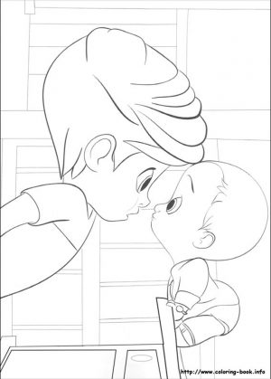 Boss Baby Free Printable Coloring Pages – 67931