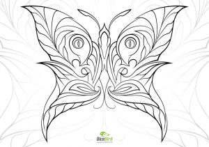 Butterfly Coloring Pages Adults Printable – 7ahf5