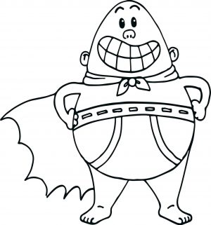 Captain Underpants Coloring Pages 003t