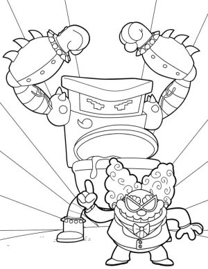 Captain Underpants Coloring Pages Free 771m