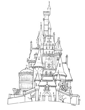 Castle Coloring Pages for Adults – 4ctg9