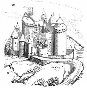 Castle Coloring Pages for Adults – b57s9