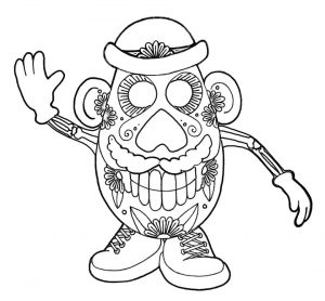 Day of the Dead Coloring Pages Online Printable – 4afs6
