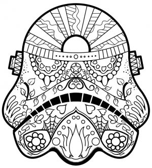 Day of the Dead Coloring Pages Online Printable – tcv31