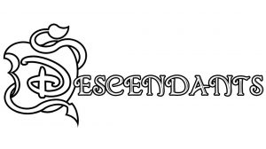Descendants Coloring Pages Printable log5