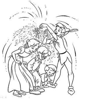 Disney Peter Pan Coloring Pages to Print – 6dga2