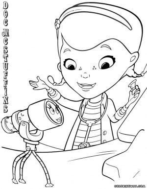 Doc McStuffins Coloring Pages Disney Printable crz9
