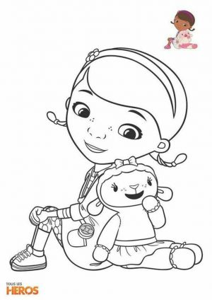 Doc McStuffins Coloring Pages Disney Printable rlx6