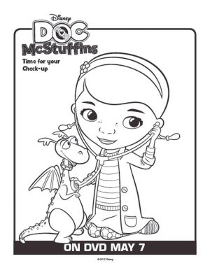 Doc McStuffins Coloring Pages to Print adr0