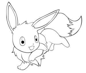 Eevee Coloring Pages Printable 7gq9