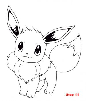 Eevee Coloring Pages Printable 8cz0