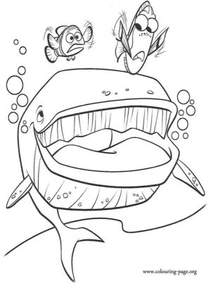 Finding Nemo Coloring Pages to Print – 4tf57