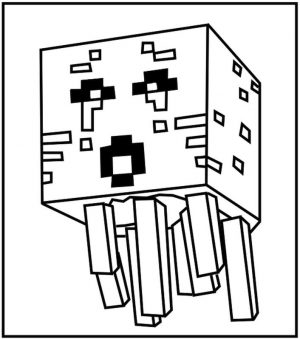 Free Minecraft Coloring Pages to Print 2wrd