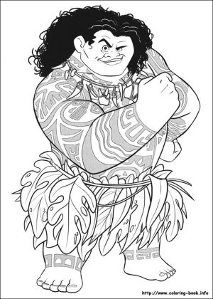 Free Moana Coloring Pages to Print – DH84L