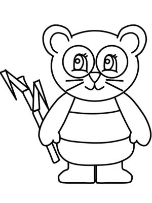Free Panda Coloring Pages Online