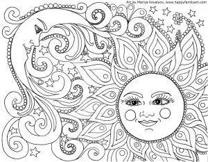 Free Summer Coloring Pages for Adults to Print – 66596