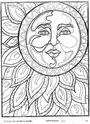 Free Summer Coloring Pages for Adults to Print – 72190