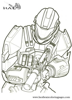 Halo Coloring Pages Printable for Boys – 7fgt5