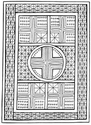 Hard Geometric Coloring Pages to Print Out – 84619