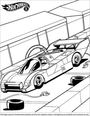 Hot Wheels Coloring Pages Free for Kids 8rfl