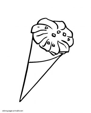 Ice Cream Coloring Pages Printable 577t