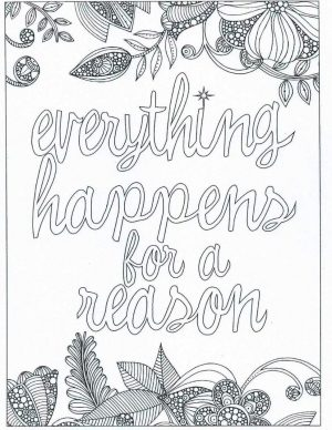 Inspirational Coloring Pages Free Fate