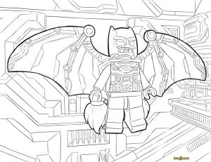 Lego Batman Coloring Pages Lego Batman in Ultimate Armor