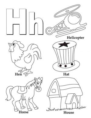 Letter H Coloring Pages – y3bal