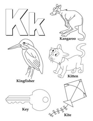 Letter K Coloring Pages – tf4m1