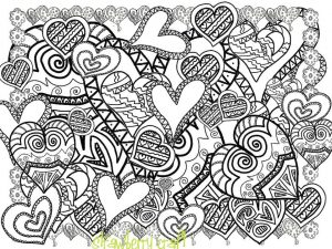 Love Coloring Pages for Adults Printable – 67182