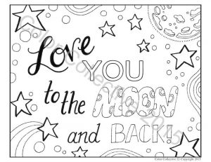 Love Coloring Pages to Print for Kids – 90579