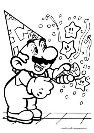 Mario Coloring Pages Free to Print – nfur4
