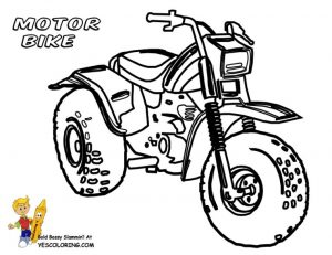 Motorcycle Coloring Pages Online Printable