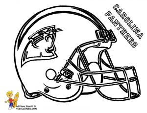 NFL Coloring Pages Helmets – 52718