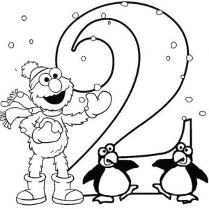 Number 2 Coloring Page – 26571