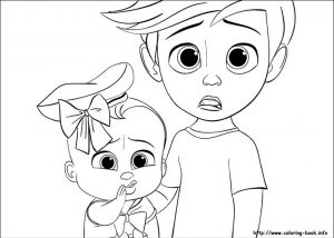 Online Boss Baby Coloring Pages for Kids – 83167