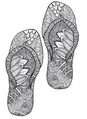 Online Summer Printable Coloring Pages for Adults – 37591