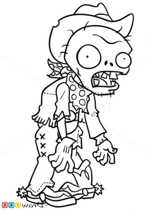 Plants Vs. Zombies Coloring Pages Kids Printable – 75671