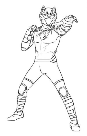 Power Rangers Coloring Pages for Kids 0wmf
